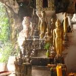 Pak Ou Caves in der Nähe von Luang Prabang / Laos
