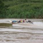 Speedbootfahrt auf dem Mekong zwischen Huay Xai und Luang Prabang