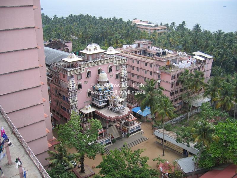 Amma-Ashram in den Backwaters