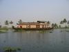 Hausboot in den Backwaters