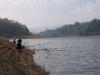 Angler im Kumily Periyar NP