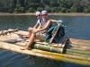 Unsere Floßfahrt im Kumily Periyar NP