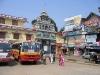 Indischer Busbahnhof