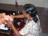 Ayurvedische Ölmassage im Sarovaram Resort