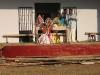 Kathakali auf dem Tempelfest in Varkala