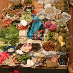 Markt in Kota Bharu / Malaysia
