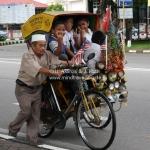 Straßenszene in Kota Bharu / Malaysia