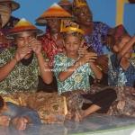 Festlichkeiten auf dem Homestay Relaunch in Kelantan / Malaysia