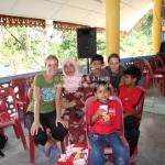 Unsere Gastfamilie auf dem Homestay Relaunch in Kelantan