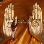 Ayutthaya Style Buddha 'Calming the Ocean'