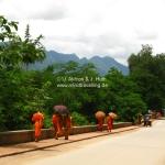 Mönche in Luang Prabang / Laos