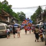 Straßenszene in Luang Prabang / Laos