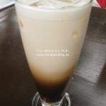 Was für ein traumhafter Eiskaffee!