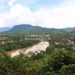 Ausblick über Luang Prabang und den Mekong in Laos