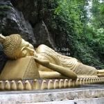 Liegender Buddha in Luang Prabang / Laos