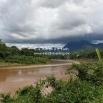 Ausblick über den Mekong in Laos