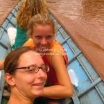 Bootsfahrt zum Tad Se Wasserfall bei Luang Prabang / Laos