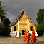 Im Wat Xieng Thong in Luang Prabang / Laos