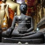 Buddhas im Wat Xieng Thong in Luang Prabang / Laos