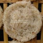 Reis trocknet