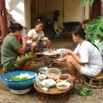 Grillen auf Laotisch