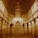 Buddhistische Höhlen in Ajanta
