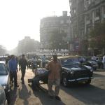 Straßenszene in Mumbai / Bombay