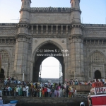 Gateway of India in Mumbai / Bombay
