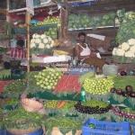Victoria Market in Mumbai / Bombay