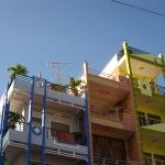 Hübsche Häuser in Chau Doc / Mekong Delta / Vietnam