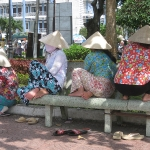 """""""Verschleierte"""" Vietnamesinnen"""