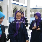 Unser Besuch der Moschee in Shah Alam