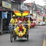 Straßenszene in Melaka