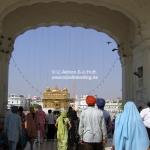 Der Goldene Tempel in Amritsar