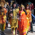 Ramayana Prozession in Mc Leod Ganj