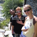 Waterfall Trek mit Raj & Adam
