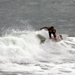 Surfer in Raglan