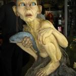 Wow, wie echt Gollum hier in den Weta Caves aussieht...