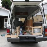 Unser Van!!!! Wir geben unser Bestes und so langsam wird es auch...