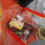 Verpflegt werden wir derweil von Antjes Weihnachtsüberaschung aus dem Gummibärenladen!!!!!