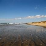 Der 90 Mile Beach in Ahipara