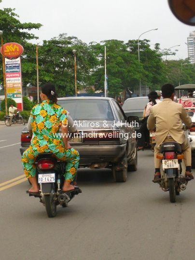 Pyjama No: 37 im Straßenverkehr