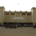 Bahnhof von Phnom Penh / Cambodia im Art Deco Style