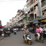 Straßenverkehr in Phnom Penh / Cambodia