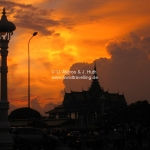 "Der Himmel ""brennt"" über Phnom Penh"