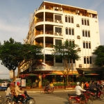 Interessante Architektur in Phnom Penh