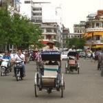 Straßenszene in Phnom Penh