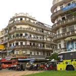 Straßenszene in Phnom Penh / Cambodia