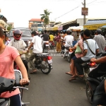 Rush Hour am Russian Market in Phnom Penh / Cambodia