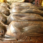 """Kuschelnde"" Buddhas im Royal Palace in Phnom Penh"